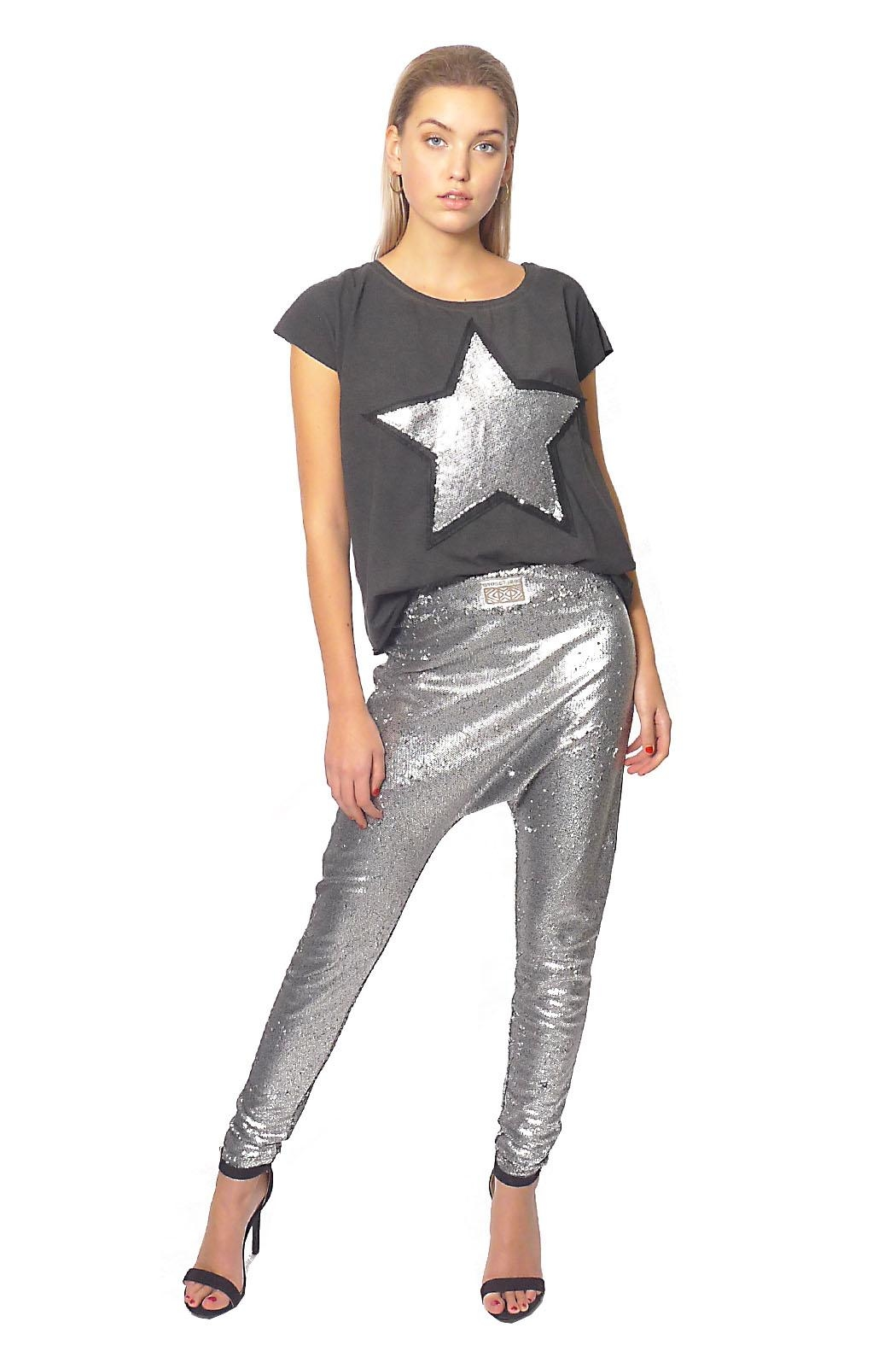 Gypsetters Pants Sequin Lowrider - Main Image
