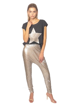 Gypsetters Pants Sequin Lowrider - Product List Image