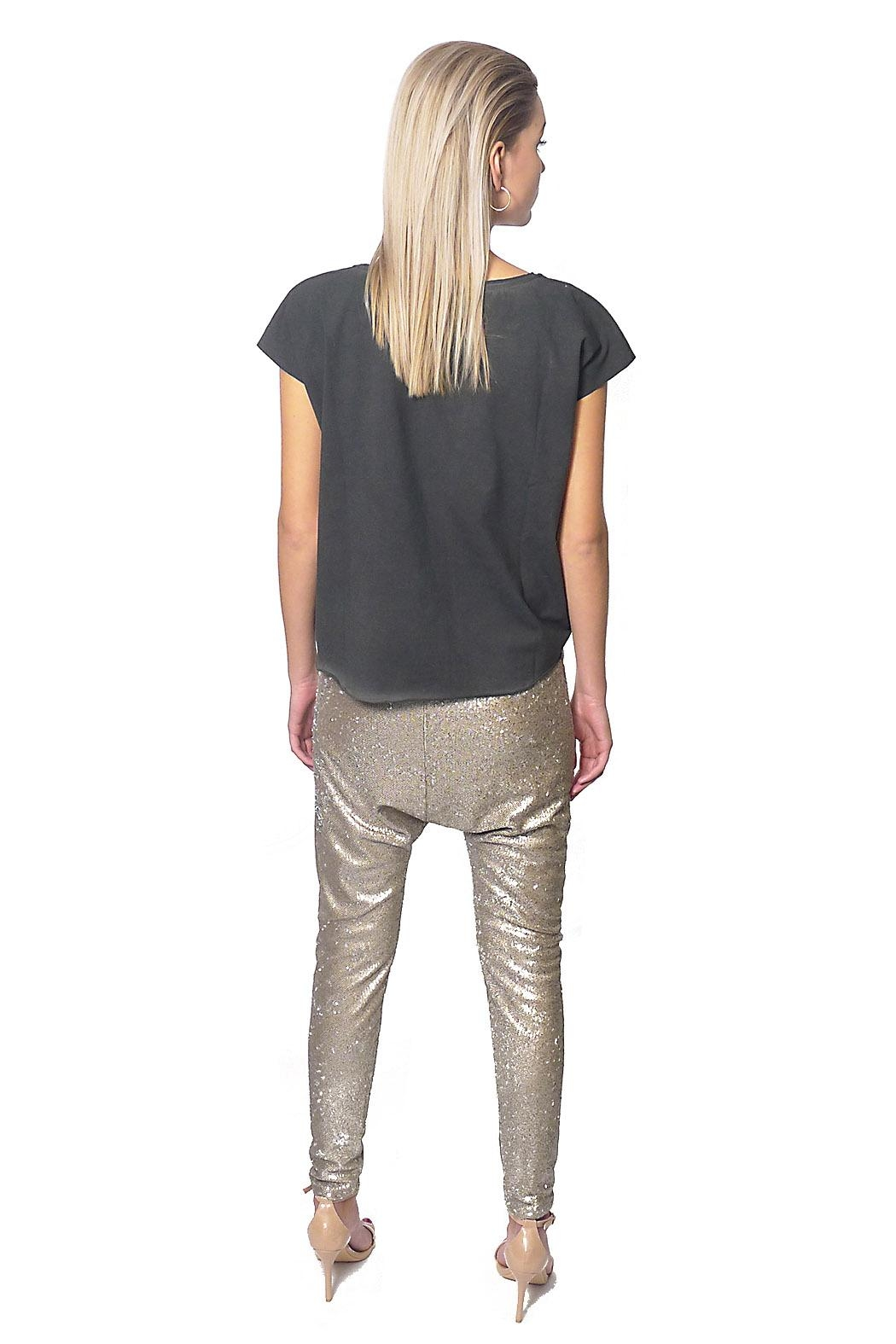 Gypsetters Pants Sequin Lowrider - Front Full Image