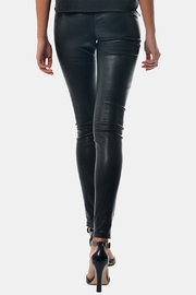 Gypsetters Pants Stretch Leather - Front full body