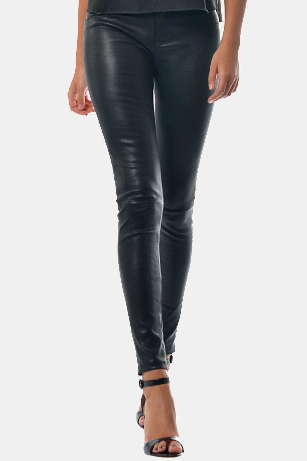 Gypsetters Pants Stretch Leather - Main Image