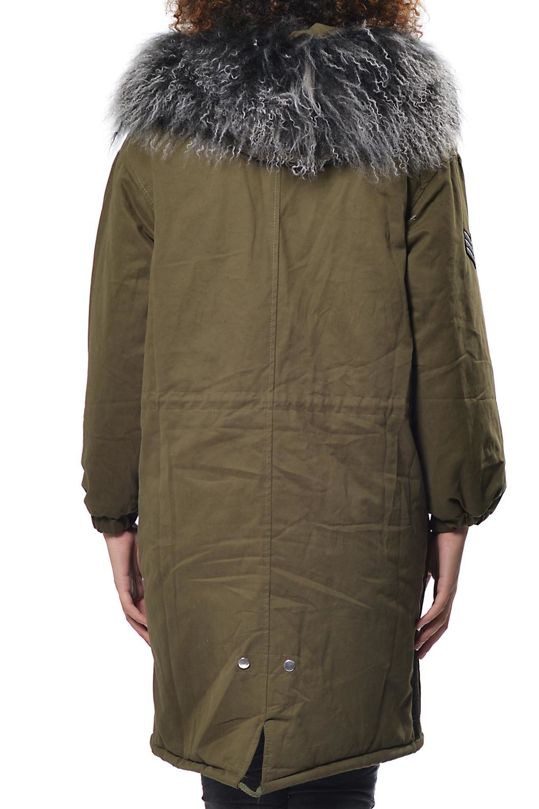Gypsetters Parka Fur Collar - Front Full Image