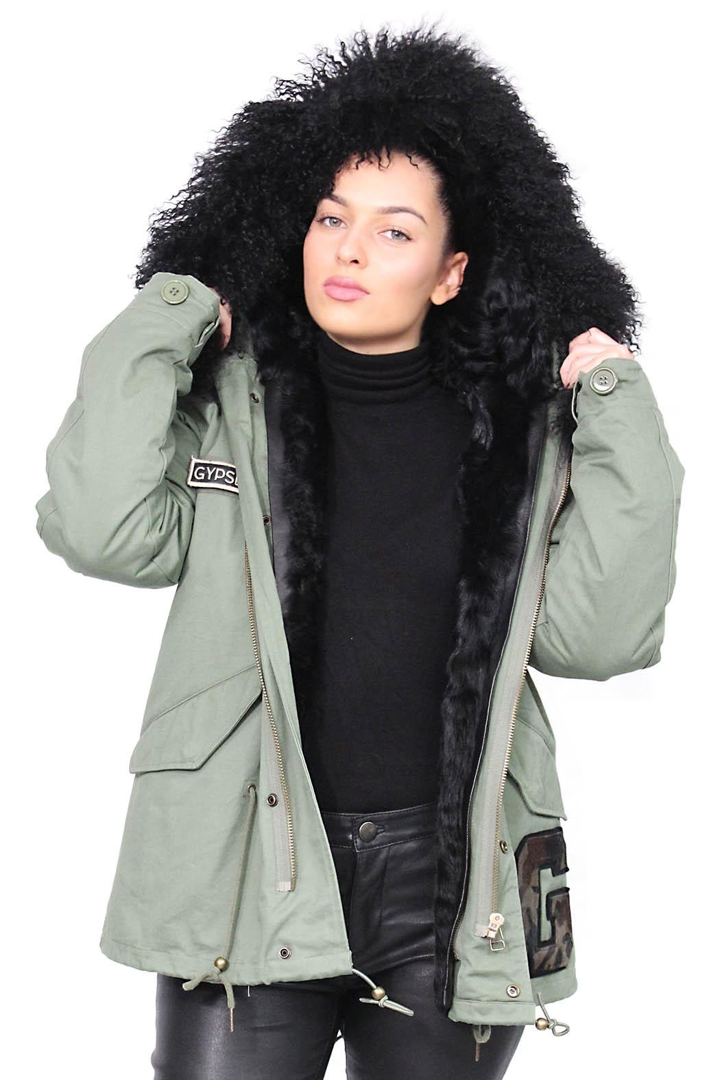 Gypsetters Parka Fur Lined - Back Cropped Image