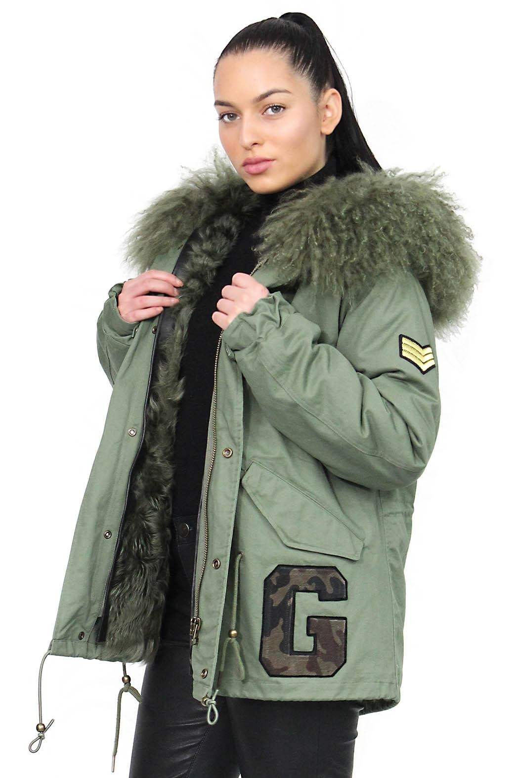 Gypsetters Parka Fur Lined - Front Full Image