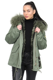 Gypsetters Parka Fur Lined - Front cropped