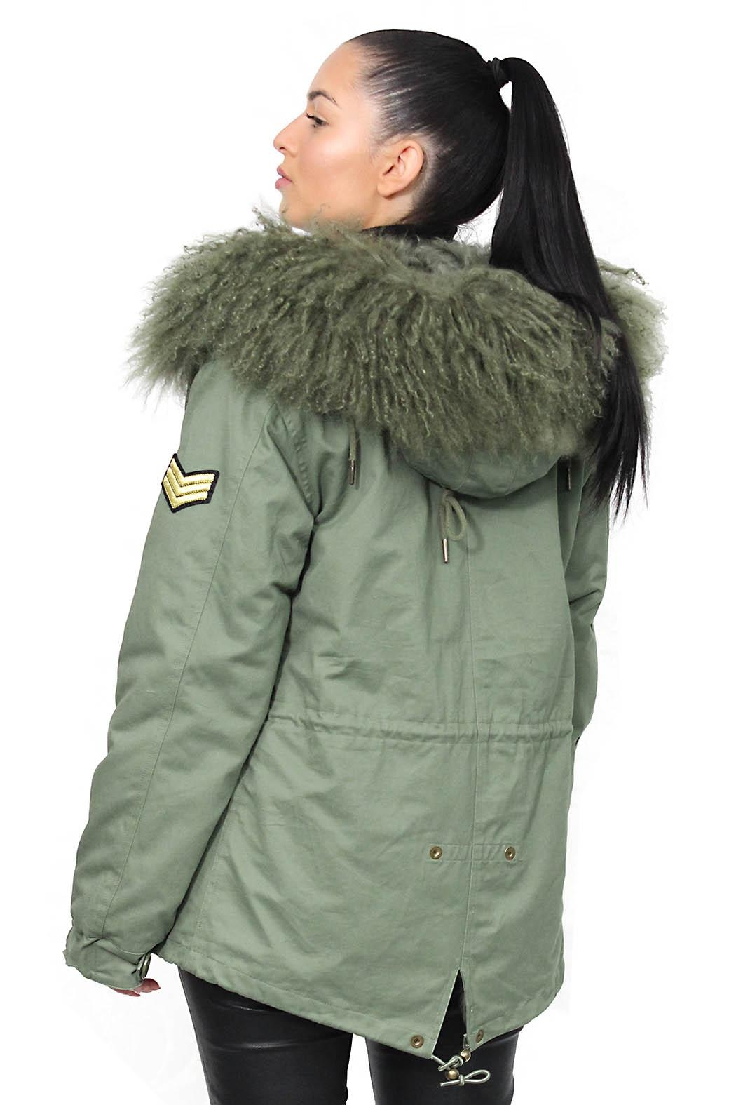 Gypsetters Parka Fur Lined - Side Cropped Image