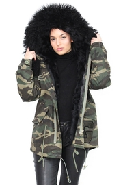Gypsetters Parka Fur Lined - Back cropped