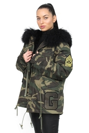 Gypsetters Parka Fur Lined - Front full body