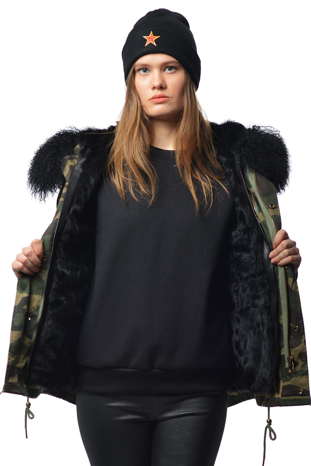 Gypsetters Parka Fur Lined - Main Image