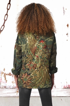 Shoptiques Product: Parka Peacock