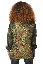 Gypsetters Parka Peacock - Front cropped