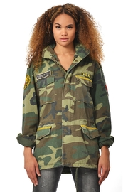 Gypsetters Parka Peacock - Front full body