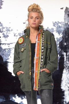 Gypsetters Parka Tribal Embellished - Product List Image