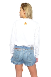 Gypsetters Short Denim Buttons - Side cropped