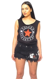 Gypsetters Short Denim High - Front cropped