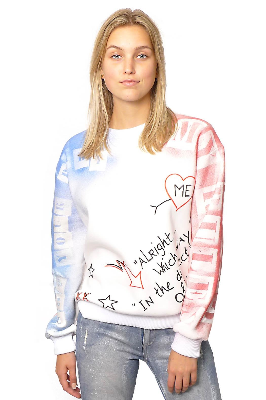 Gypsetters Sweater Graffiti - Front Full Image