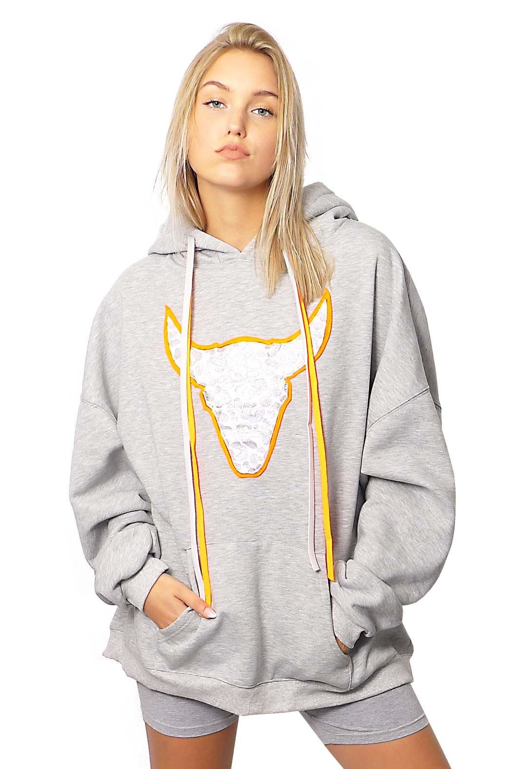 Gypsetters Sweater Oversized Bull - Front Cropped Image