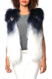 Gypsetters Lamb Embellished Vest - Product Mini Image