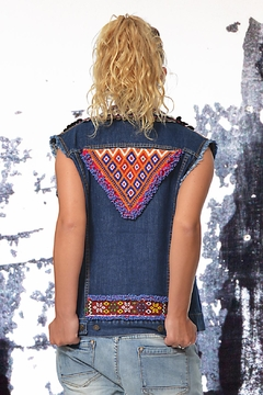 Gypsetters Vest Tribal Embellished - Alternate List Image