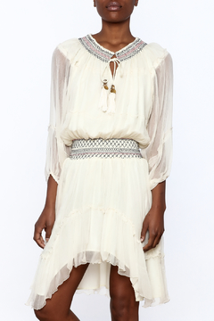 Gypsy 05 Flowing Ivory Dress - Product List Image