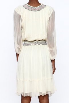 Gypsy 05 Flowing Ivory Dress - Alternate List Image