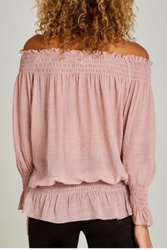 Apricot Gypsy Blouse Top - Alternate List Image