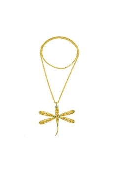 Shoptiques Product: Dragonfly Necklace