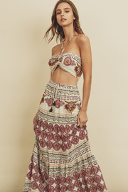 R+D  Gypsy Halter Maxi Set - Product Mini Image