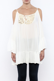 Gypsy Junkies Boho Crochet Top - Side cropped