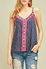 Imagine That Gypsy Stripe Top - Product Mini Image