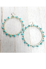Fabulina Designs Gypsy Turquoise Earrings - Product Mini Image