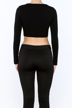 Shoptiques Product: Long Sleeve Crop Top