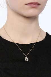 H & R Fashion The CK Necklace - Back cropped