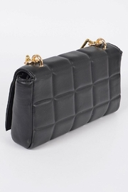 H&D Accessories Big Square Quilted Cross Body Bag - Side cropped