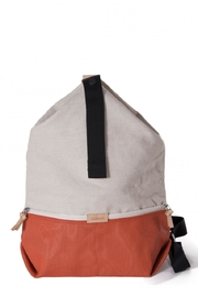 Hänska Lucid Linen Red Backpack - Product Mini Image