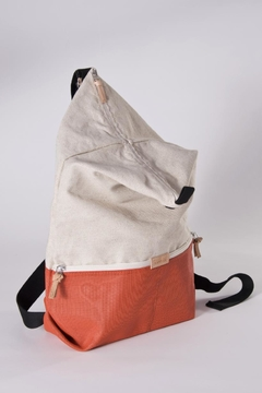 Hänska Lucid Linen Red Backpack - Alternate List Image