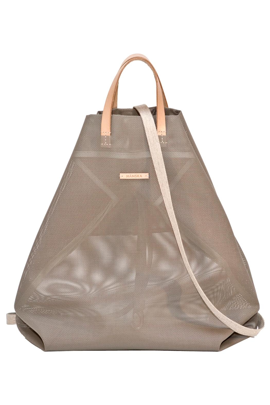 Hänska Shopper Backpack Taupe - Side Cropped Image