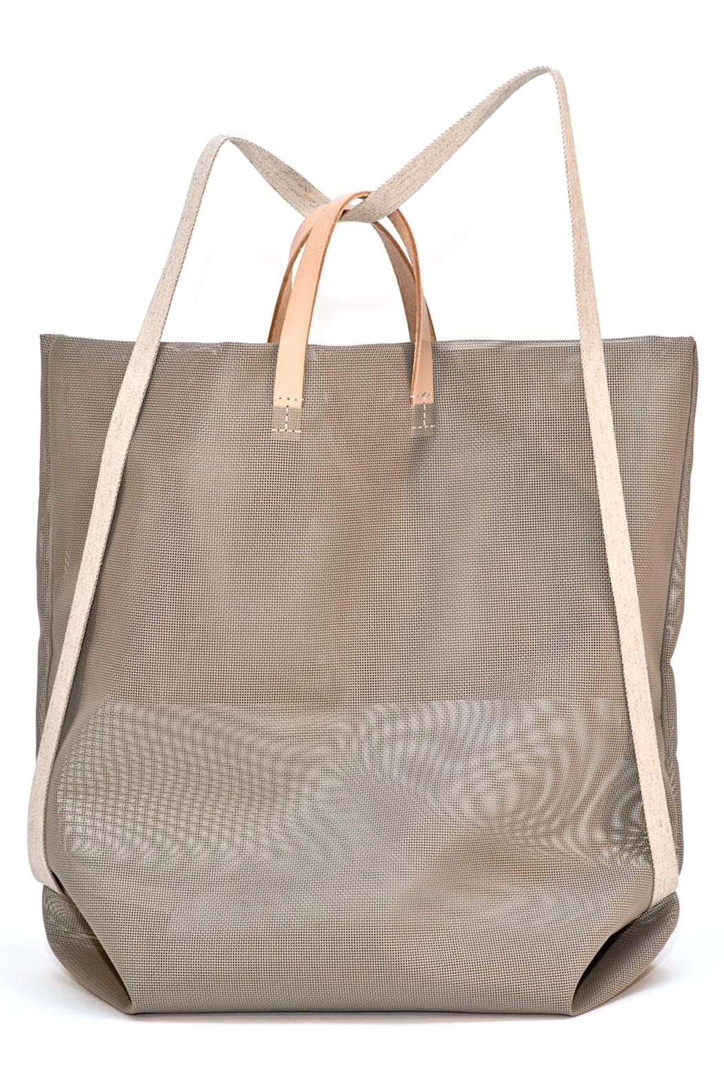 Hänska Shopper Backpack Taupe - Front Full Image