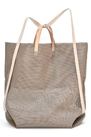 Hänska Shopper Backpack Taupe - Front full body