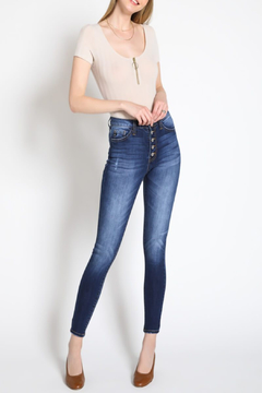 Shoptiques Product: H/R Button Fly Skinny