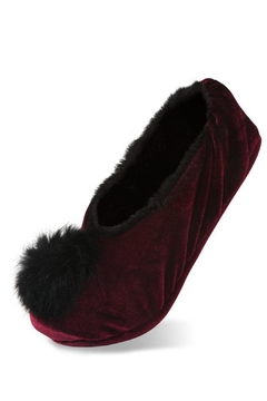 H2Z Fur Pompom Slippers - Product List Image