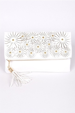 H & D Floral Embroidered Clutch - Product List Image