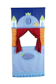 HABA USA Doorway Puppet Theater - Front cropped