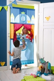 HABA USA Doorway Puppet Theater - Front full body