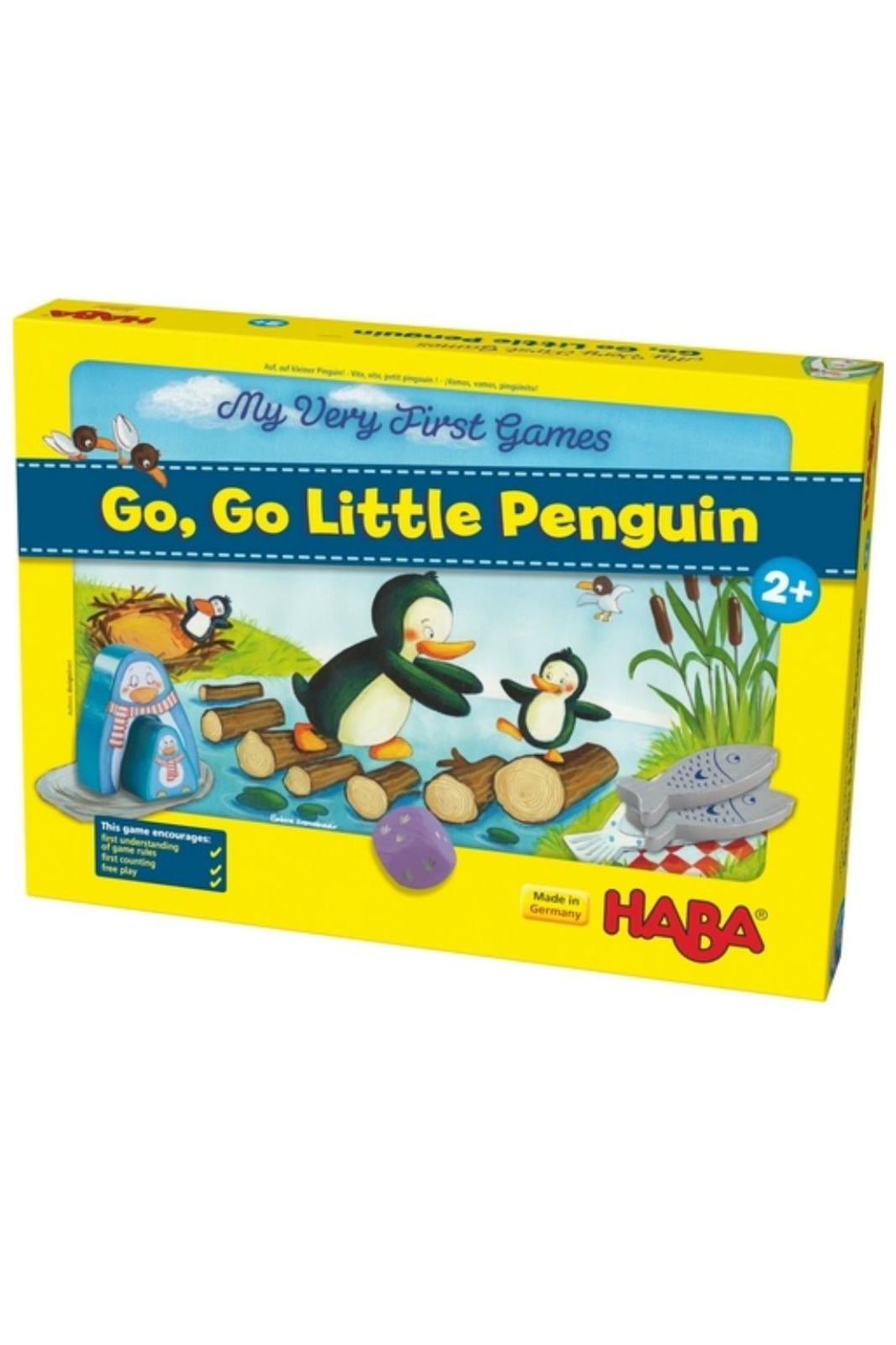HABA USA Go Little Penguin - Front Cropped Image