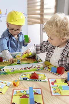 Shoptiques Product: Little Builders Game