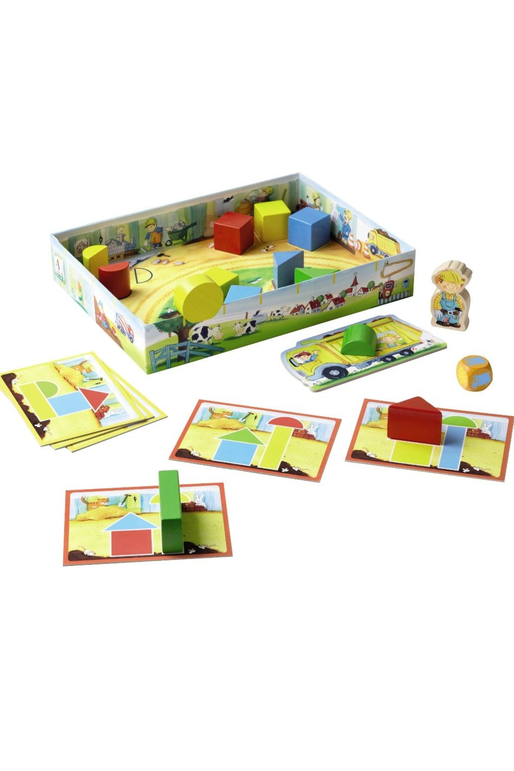 HABA USA Little Builders Game - Front Full Image