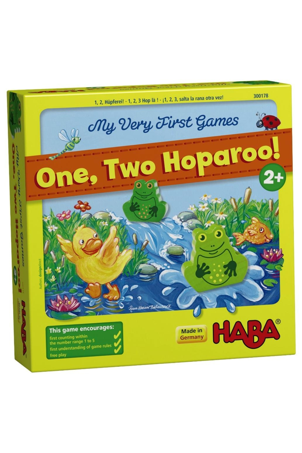 HABA USA One, Two, Hoparoo! - Front Full Image