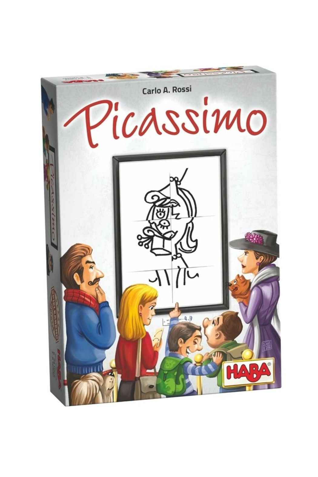 HABA USA Picassimo Family Game - Main Image