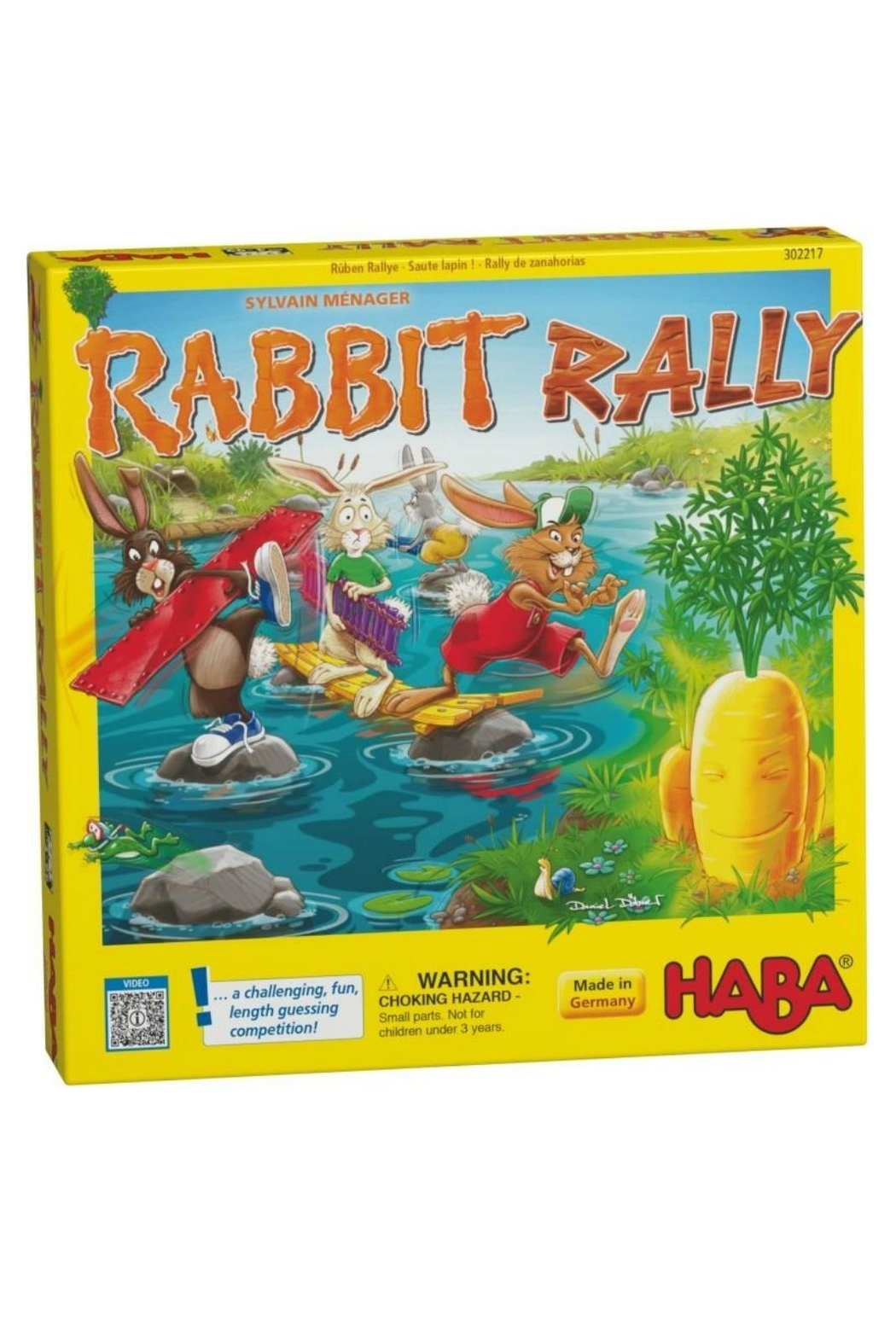 HABA USA Rabbit Rally Game - Main Image
